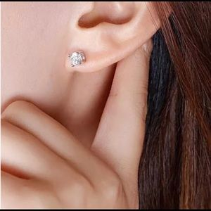 Jewelry - Round Sterling Silver Studs
